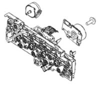 RM2-5888 Main drive assembly (duplex models)