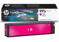 HP 991X Картридж пурпурный (16K) High Yield Magenta Original PageWide Cartridge